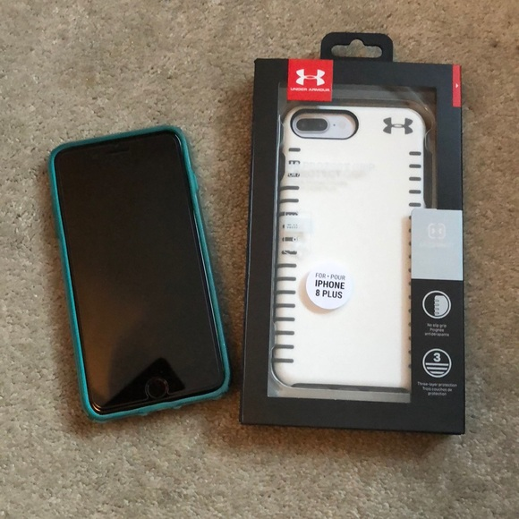 hot sales 0ab91 cd230 Under Armour iPhone 8 Plus Phone Case NWT